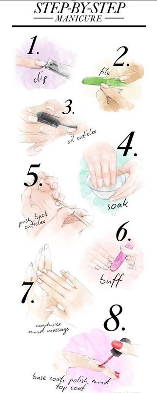 涂抹指甲油的步骤有哪些 手把手教学